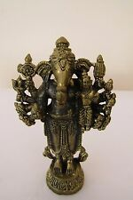 Lord OM Ganesh Uddanda Ganapati Ganesha Hinduism Brass statue Amulet