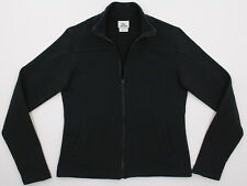 Womens Lacoste BIG CROC Full Zip Track Style Jacket Black 40 Medium
