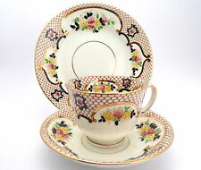 STANLEY CHINA Pattern 4191 Vintage Trio, Tea Cup Saucer and Teaplate c'1906/30
