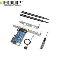 1200Mbps PCI-E Wireless Lan Card Wifi Bluetooth Dual Band 2.4G 5G 802.11AC Card