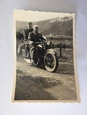 Echt Foto Motorrad Opel Sport ? NSU Ariel um 1958