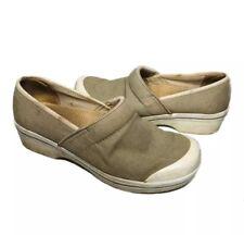 Dansko Professional Clog Women Size 41 US 10 Sage Green Vegan Slip Resistant