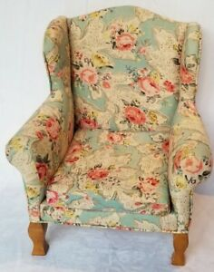 Beautiful Doll CHAIR Queen Anne Style Great for American Girl DOLL