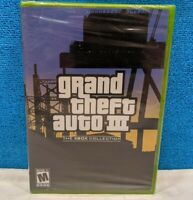 Grand Theft Auto III - Double Pack Edition (Microsoft Xbox, 2003) Factory Sealed