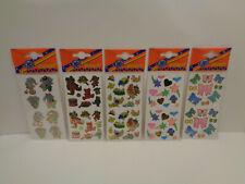 Vintage Stickers 5 verschiedene Bögen  Hans Postler  90er Jahre Nr.4