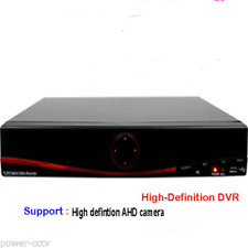 4Channel  High-Definition DVR support 720P Analog HD-AHD Camera
