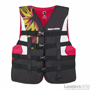 Sea-Doo New OEM Women's 2X-Large, Motion Life Jacket/PFD, 2858791436