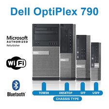Dell Desktop Computer PC 790 Quad Core i5 16GB 480GB SSD 2TB HD Windows10 WiFi💻