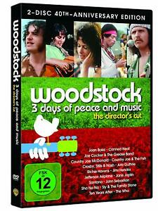 Woodstock (Director's Cut - Special Edi.)[2 DVD's/NEU/OVP] Oscar-prämierte Doku