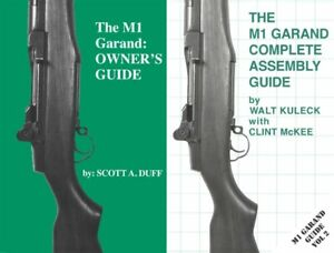 2 BOOKS The M1 Garand Owner's and Complete Assembly Guides - Springfield Rifle