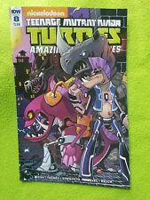 Teenage Mutant Ninja Turtles IDW Issue 8. Nickelodeon comic book graphic novel