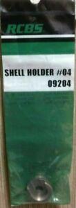 New RCBS Shell Holder #4 shellholder #4 #09204 New in package