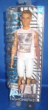 BARBIE COLLECTOR  FASHIONISTAS BARBIE DOLL KEN (17)  , NEW