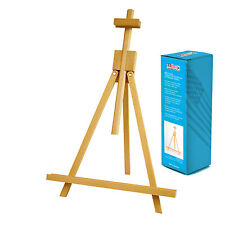 """Us Art Supply 18"""" Tall Wood Tabletop A-Frame Display Painting Artist Easel"""