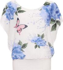 T-shirt, maglie e camicie da donna senza maniche, taglia comoda blu