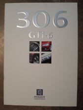 PEUGEOT 306 GTi-6 orig 1997 UK Mkt Sales Brochure