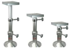 "Two Stage Adjustable Table Pedestal Mount Aluminum 11.61""-27.16"" For Marine Boat"