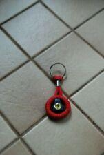 Collection Porte-clés Ferrari rouge avec insigne cheval  Très Bon Etat!