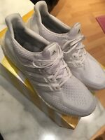 Adidas Ultra Boost 2.0 All White Triple White Gr.47 (46)