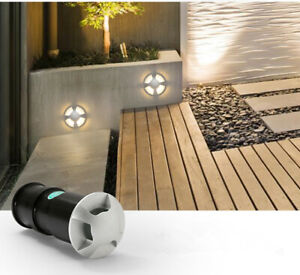 10 x 3W DC12v CREE LED Underground Lamp Outdoor Path Stair Step Foot Light