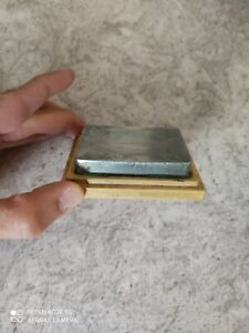 Excellent condition block of zinc for polishing