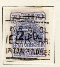 Estonia 1919-20 Early Issue Fine Used 70p. 121250