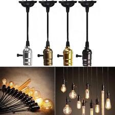 E27 / E26 Retro Vintage Edison Pendant Lighting Bulb Lamp Holder Socket DecorE1
