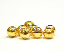 300 Metallperlen Zwischenteile SPACER Rund 4mm GOLD Metall Schmuck Basteln SF27