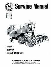 International 815 - 915 Combine Chassis Service Manual