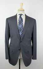 New KITON NAPOLI Gray 14 Micron Super 180's Wool Suit Size 52/42 R Drop 8 $8995