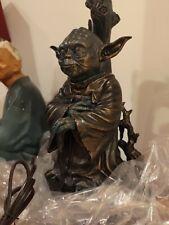 Star Wars Jedi Master Yoda Masterpiece Tabletop Lamp - The Bradford Exchange