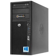 HP Z420 Workstation E5-2670 8-Core 32GB SSD 256GB HDD 250GB Quadro 2000 Win10