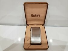 Vintage Silver Lighter Parker Flaminaire / Parker Pen Co. 1950's. ORIGINAL BOX