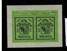 Schweiz Block 423 (aus Block 10) **  Genfer Briefmarkenausstellung