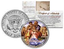MICHELANGELO * Doni Tondo * SISTINE CHAPEL Painting Art JFK Half Dollar US Coin