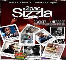 TUPAC 2PAC & SIZZLA 2 VOICES ONE MESSAGE CLASSIC MIX CD