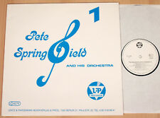 PETE SPRINGFIELD & HIS ORCHESTRA - 1  (L&P-RECORDS / LP vg++/m-)