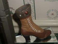 1999 -Just The Right Shoe Raine Figurine-High-Buttoned Boot-Good Cond.