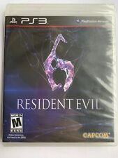 Resident Evil 6 PS3 Sony PlayStation 3 Video Game NEW SEALED Y-Fold