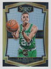 R.J. HUNTER 2015-16 Panini Select Premier Silver Prizm #129 Celtics