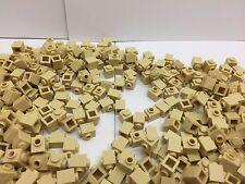 LEGO 4733 - 4 Sided Stud Technic 1x1 Tan Brown Biege Brick -10 Pieces Per Order