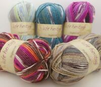 Stylecraft Life Heritage ARAN Weight Premium Acrylic + Wool Knitting Yarn 100g