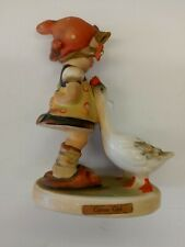 "Hummel ""Goose Girl"", 47 3/0, Tmk2, 4"", Vintage Figurine"
