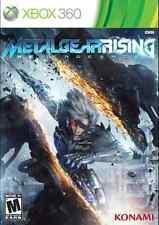 NEW Xbox 360 video game: Metal Gear Rising Revengeance