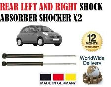 FOR NISSAN MICRA 2003-ON REAR LEFT AND RIGHT SHOCK ABSORBER SHOCKER X1