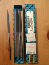 Grobet USA 16cm Warding Needle File, Cut 2, Item No. 31.664 - LOT OF 5 PCS