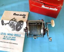 New listing Vtg 1970's Penn Level Wind # 209 Ms Salt-Water Trolling Ocean Sport Fishing Reel