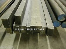 "MS MILD STEEL 3/4 x 1 x 12"" FLAT BAR STOCK FOR CNC MILL MILLING MACHINE SHOP"