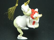 The Grinch Lenox Ornament Doctor Seuss Perfect Present Christmas NIB