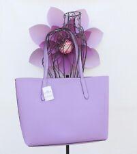 COACH Leather Tote bag purse Purple Iris Violet Beige Beechwood Wine Light Pink